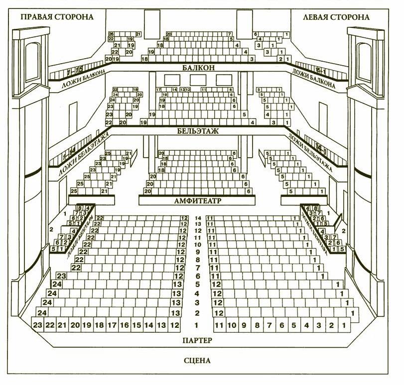 Посмотреть схему зала